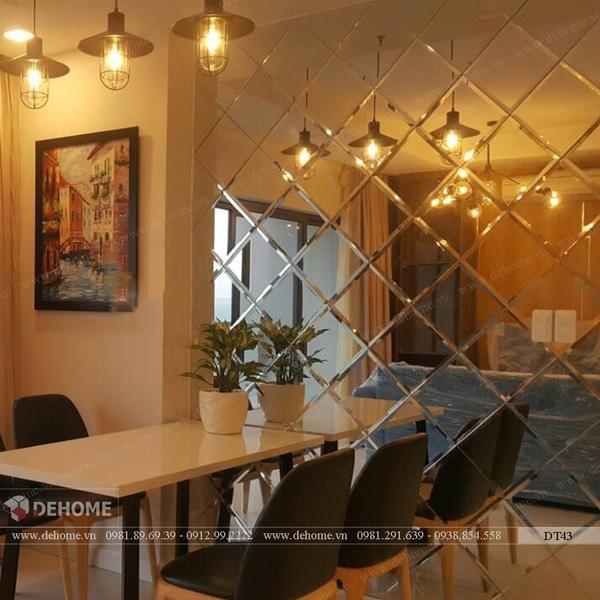 Gương Ghép Trang Trí Cao Cấp Phòng Bếp Dehome - DT43