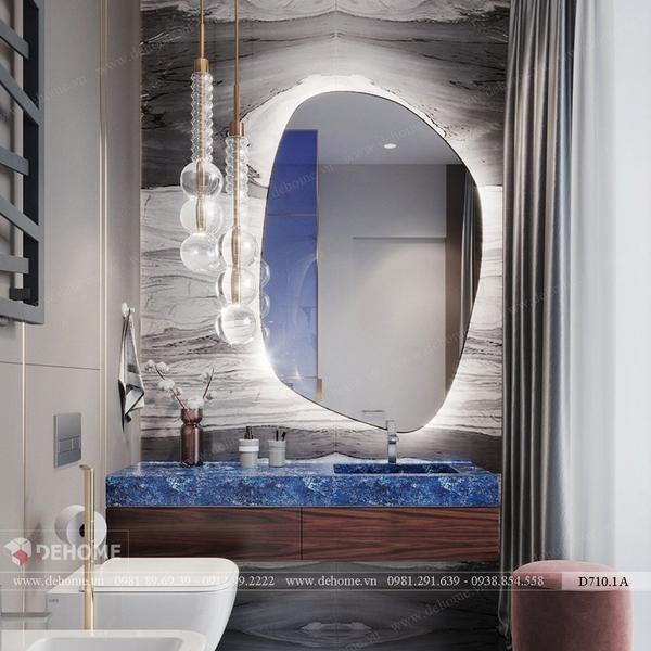 Gương phòng tắm cách điệu độc đáo Dehome - D710.1A