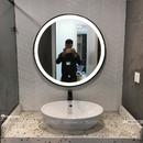 Gương Phòng Tắm Đèn Led Khung Kim Loại Sơn Tĩnh Điện Cao Cấp Dehome - DKL60.2B