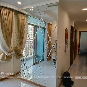 Gương dán tường phòng khách Dehome - DT52