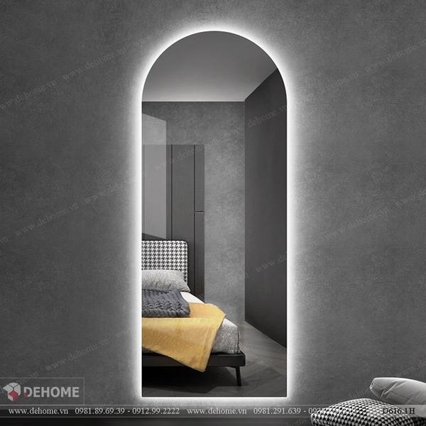 Gương dài toàn thân có đèn led cao cấp Dehome - D616.1H