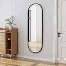 Gương đứng toàn thân khung gỗ bầu dục cao cấp Dehome - DG616D