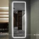 Gương đứng soi toàn thân có đèn led cao cấp Dehome - D616.1Z