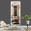 Gương đứng toàn thân có đèn led cảm ứng Dehome - D616.2R