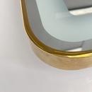 Gương Trang Điểm Hình Tròn Có Đèn Led Viền Mạ PVD Cao Cấp - DPVD60.2F