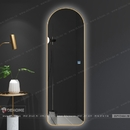 Gương đứng khung inox mạ PVD cao cấp Dehome - DPVD616.2E