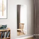 Gương đứng soi toàn thân khung sơn tĩnh điện trắng Dehome - DKL616D