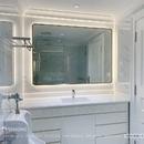 Gương nhà tắm khung inox mạ PVD cao cấp Dehome - DPVD114.1A