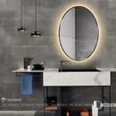Gương bàn trang điểm khung kim loại sơn tĩnh điện Dehome - DKL69.2B