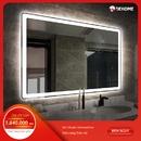 Gương nhà tắm chữ nhật đèn led Dehome - KM12
