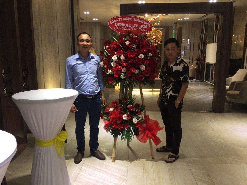 Dehome - lắp đặt gương Khách Sạn Quốc Tế Châu Khương Hotel - Long Xuyên, An Giang