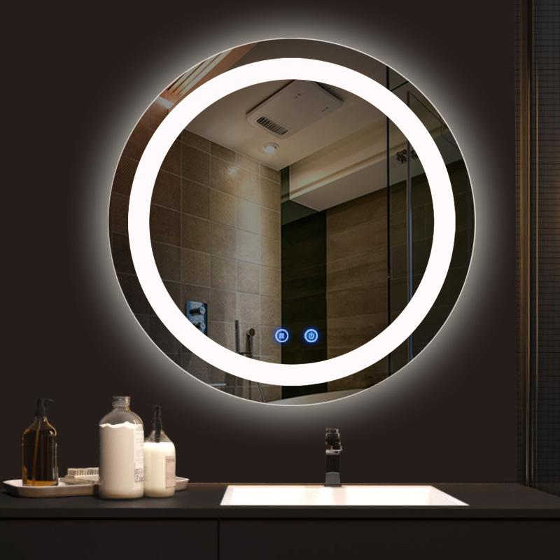 Gương Phòng Tắm Đèn Led Nguồn Cảm Ứng Dehome DH60-32